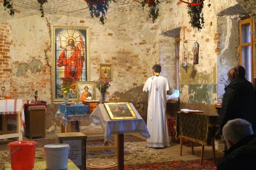 Престольный праздник в приходском храме села Чириково в честь дня памяти святого великомученника Георгия Победоносца.